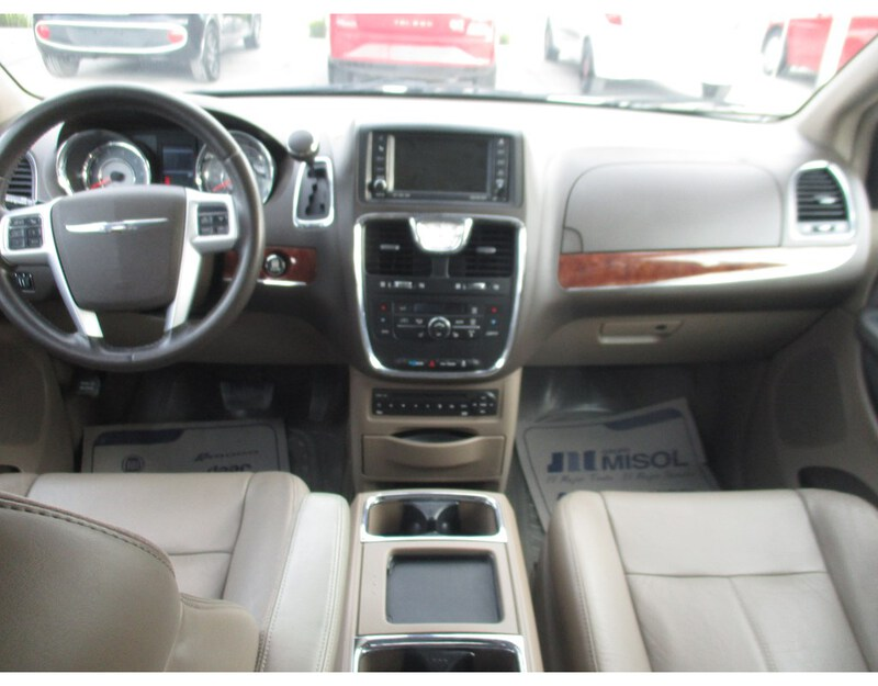 Interior TOWN & COUNTRY  BLANCO